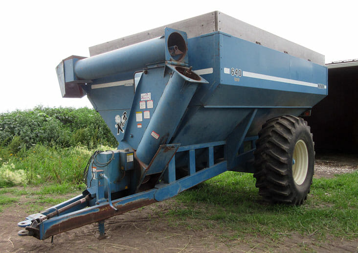 We know the value of grain carts