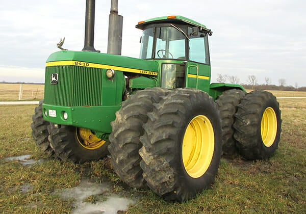 HeavyWorth knows the value of John Deere tractors